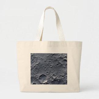Moon Surface Large Tote Bag