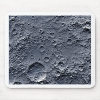 Moon Surface Mouse Pad