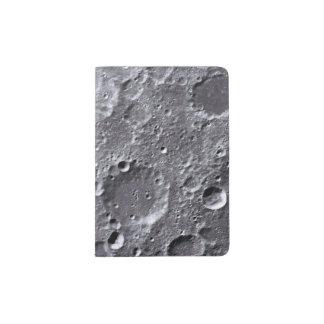 Moon surface passport holder