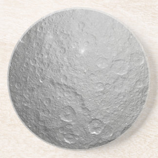 Moon Surface Texture Drink Coasters