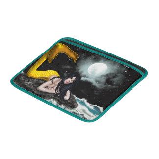 Moon Tide Mermaid Macbook Air Sleeve