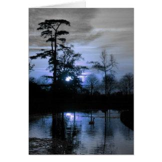 Moon Tree Card