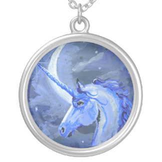 Moon Unicorn Necklace