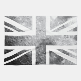 Moon Union Jack British(UK) Flag Kitchen Towel