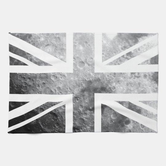 Moon Union Jack British(UK) Flag Towels