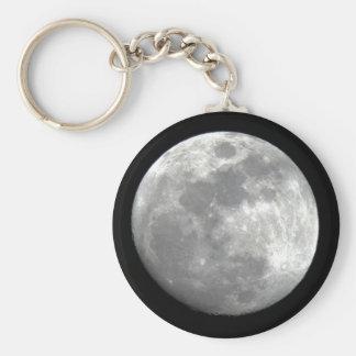 Moon View Keychain