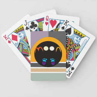 moon walk1 bicycle playing cards