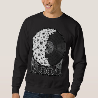 MOON white DarkStroke Sweatshirt