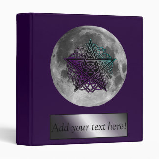 Moon with Celtic knot pentacle binder