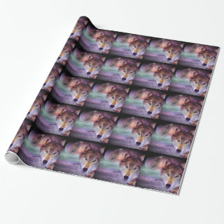 Moon Wolf Wrapping Paper