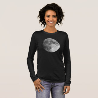 Moon Women's Bella+Canvas Long Sleeve T-Shirt