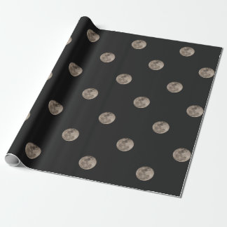 Moon Wrapping Paper