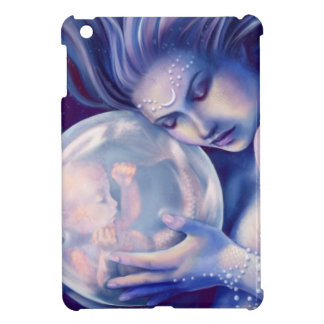 Moonborn - Mermaid and Baby iPad Mini Cover