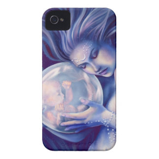 Moonborn - Mermaid and Baby iPhone 4 Cases
