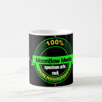 MoonBow Media Mug green