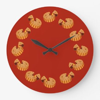 Mooncake Large Clock