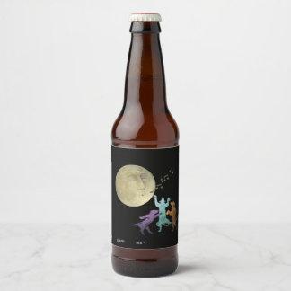Moondance, blank (rev) beer bottle label