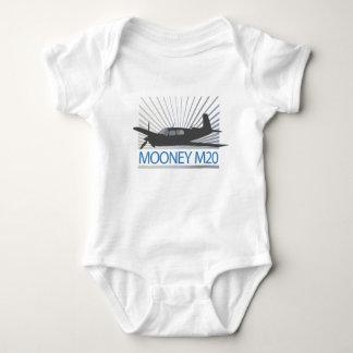 Mooney M20 Aviation Baby Bodysuit