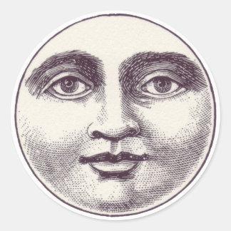 Moonface Gift Seal Sticker