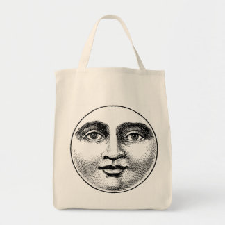 MOONFACE TOTE BAG
