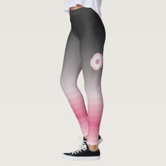 moonflower pink luna leggings