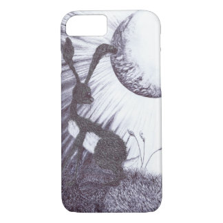 mOONGAZING HARE h3317 iPhone 8/7 Case