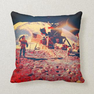 Moonland Throw Pillow