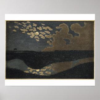 Moonlight, 1894 poster