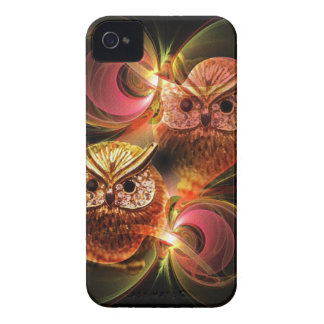 Moonlight and Owls, Artistic iPhone 4 Case