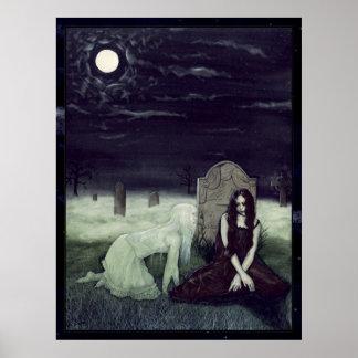 Moonlight Apparition Poster
