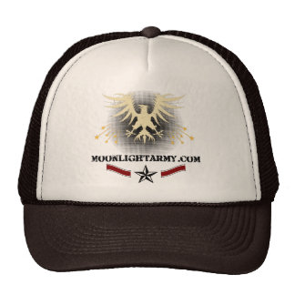 Moonlight Army Trucker Hat