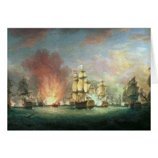 Moonlight Battle: The Battle off Cape St Card