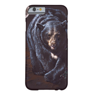 Moonlight Black Bear Barely There iPhone 6 Case