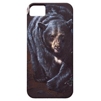 Moonlight Black Bear iPhone 5 Covers