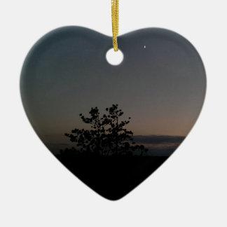 Moonlight Ceramic Ornament