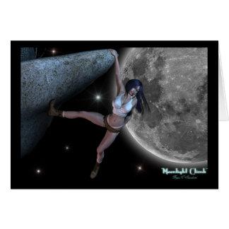 """Moonlight Climb"" Rock Climbing Artwork Cards"