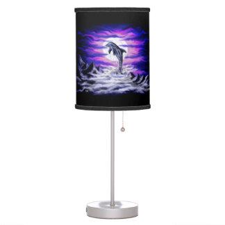 Moonlight Dolphin Table Lamp
