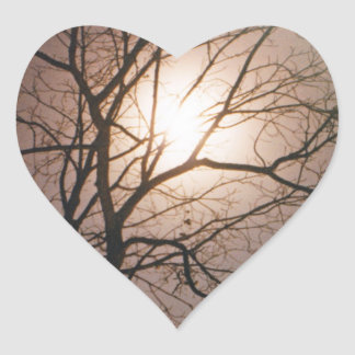 Moonlight Dream Heart Sticker
