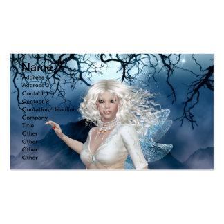 Moonlight Fairy Business Card Template