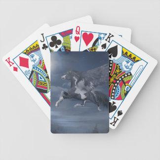 Moonlight Flight Poker Deck