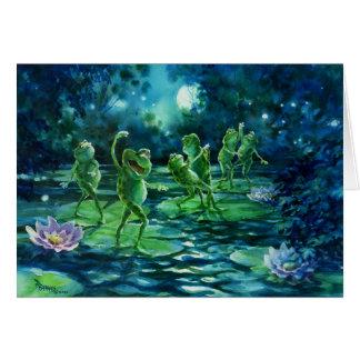 Moonlight Frolic Card