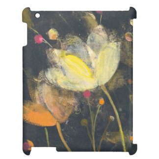 Moonlight Garden on Black Case For The iPad 2 3 4
