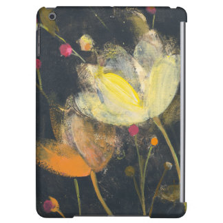 Moonlight Garden on Black Cover For iPad Air
