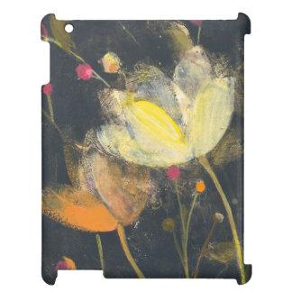 Moonlight Garden on Black iPad Case