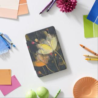 Moonlight Garden on Black iPad Mini Cover