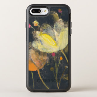 Moonlight Garden on Black OtterBox Symmetry iPhone 7 Plus Case