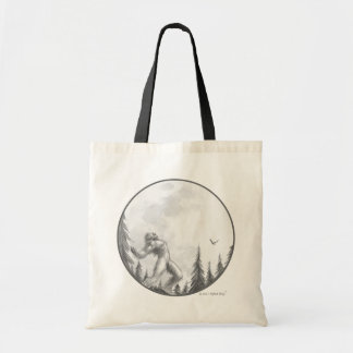 Moonlight Howl basic tote bag by Bigfoot Bling