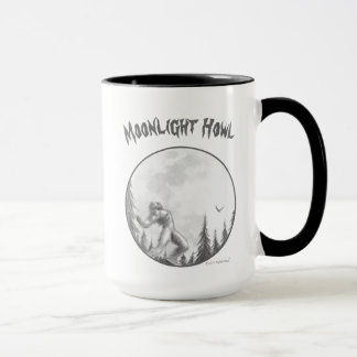 Moonlight Howl Mug