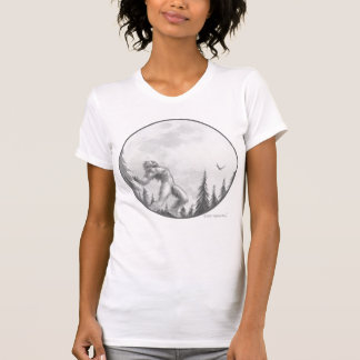 Moonlight Howl T shirt by Bigfoot Bling
