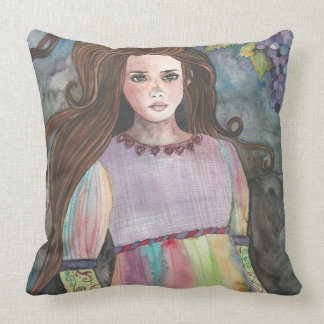 MOONLIGHT IN THE VINEYARD Whimsical Pillow